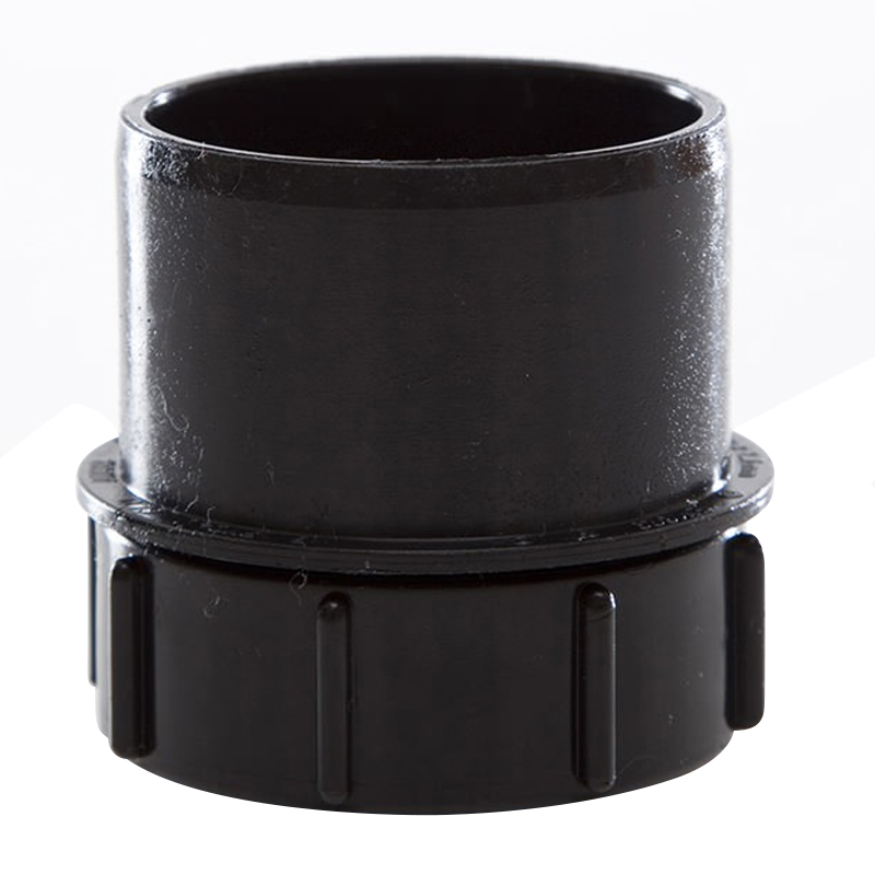110mm Black Soil PE Access Plug With Screwed Access