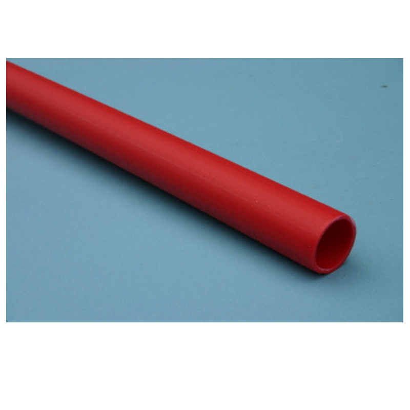 ESB PVC Ducting Pipe Red 50mm x 6M