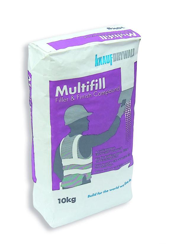 Multifill 10kg (Fast Set Joint Filler)