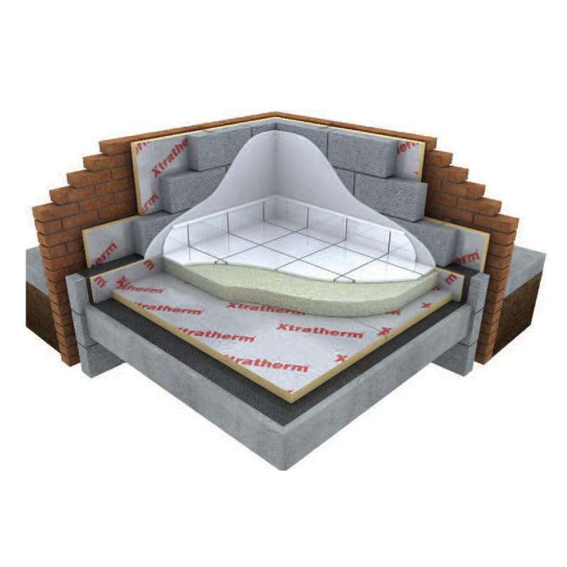 25mm Polyiso Underfloor Insulation (Sheet) 2.4m x 1.2m