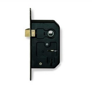 Mortice Lock 2 Lever 63mm Black