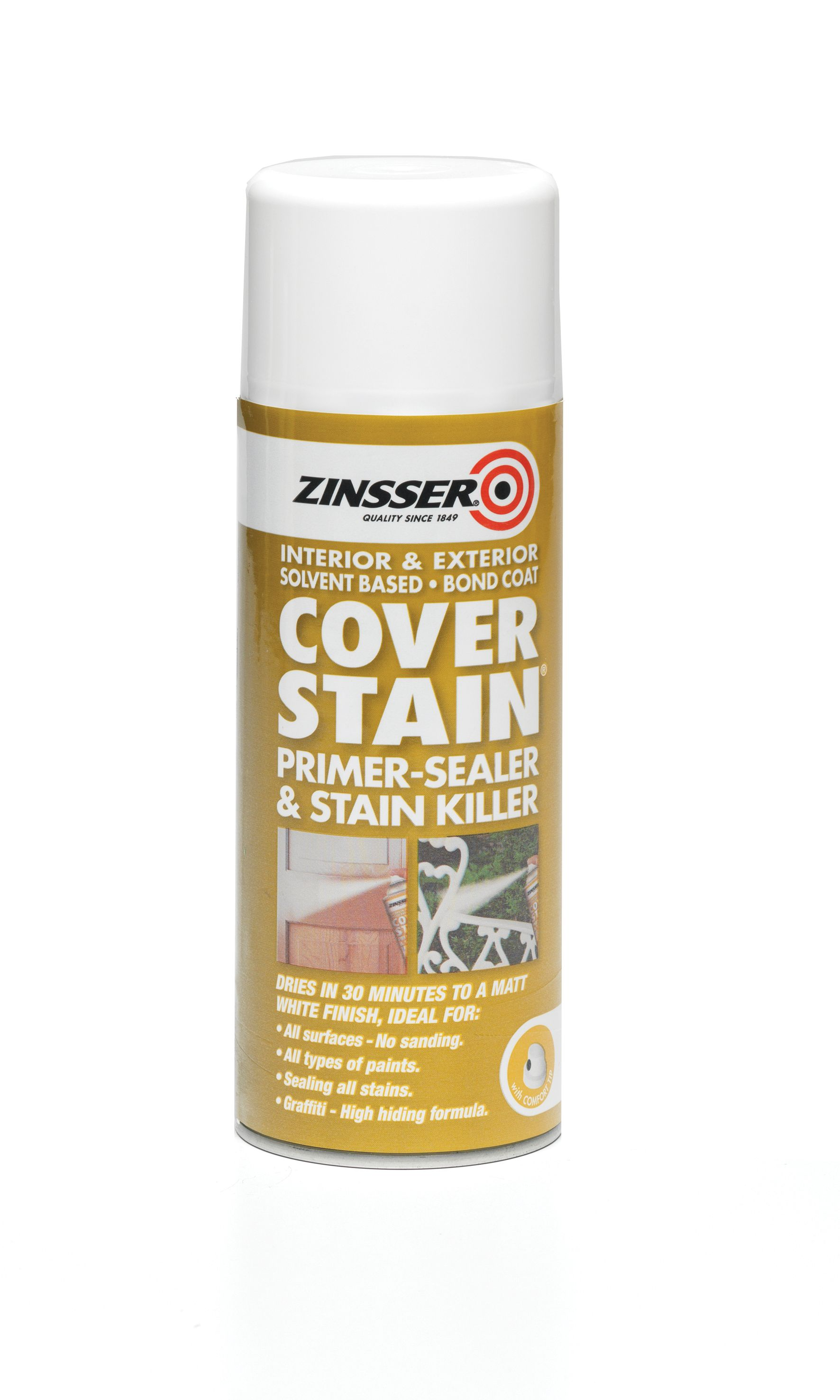 Zinsser Cover Stain Aero 400ML