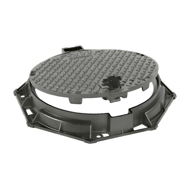 D400 Round Manhole Cover & Round Frame 600mm
