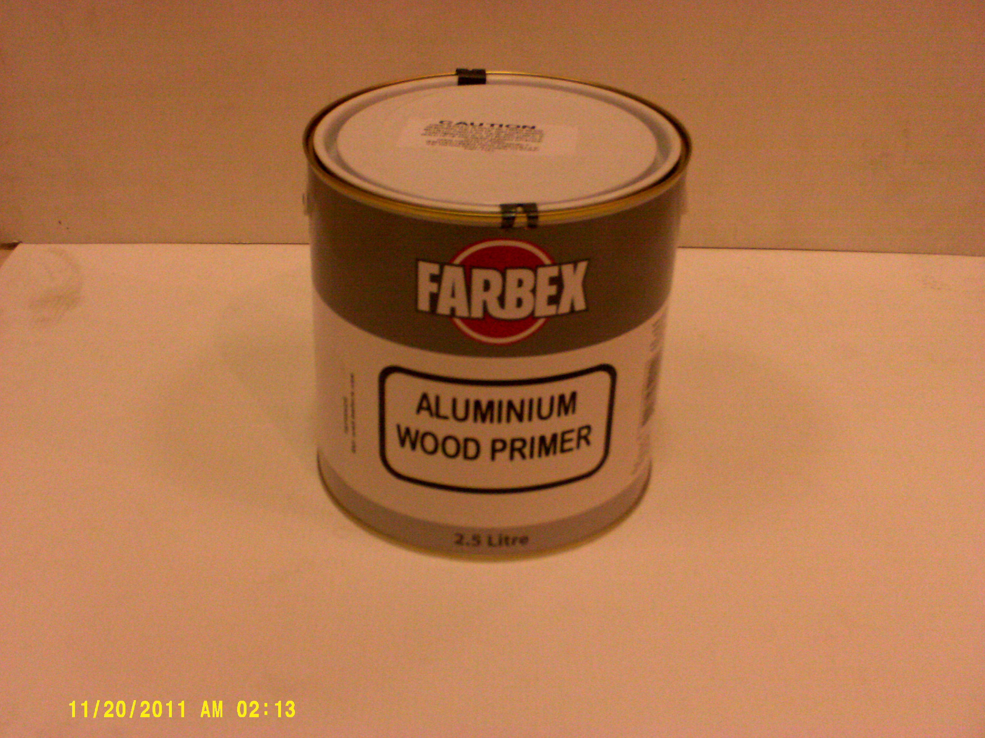Aluminium Wood Primer 2.5L