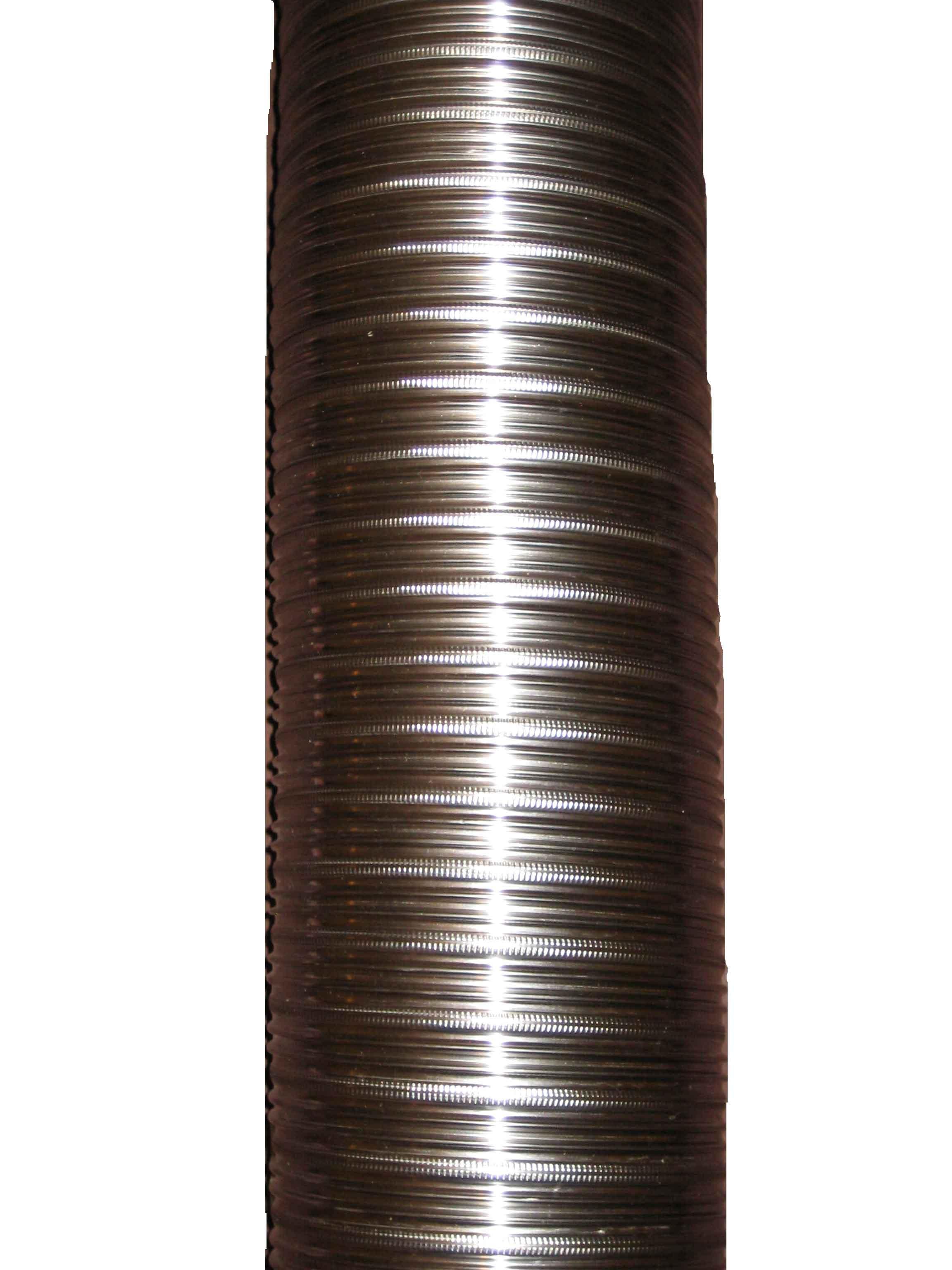 6m 125mm 316/316 Twin Wall Flexible Flue Liner