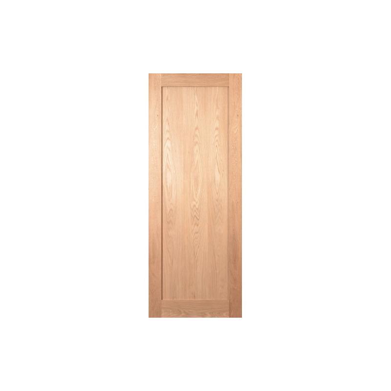 Oak Shaker Door 80x32 (Pre-finished)