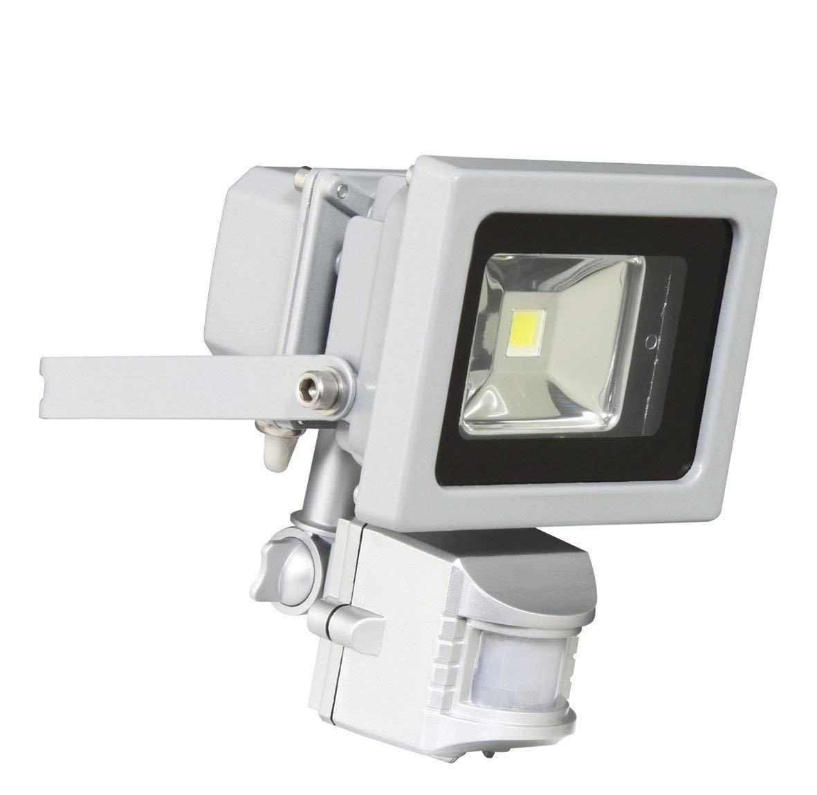 LED Security Floodlight 10W With PIR