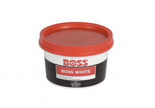 Boss White 400G Tin