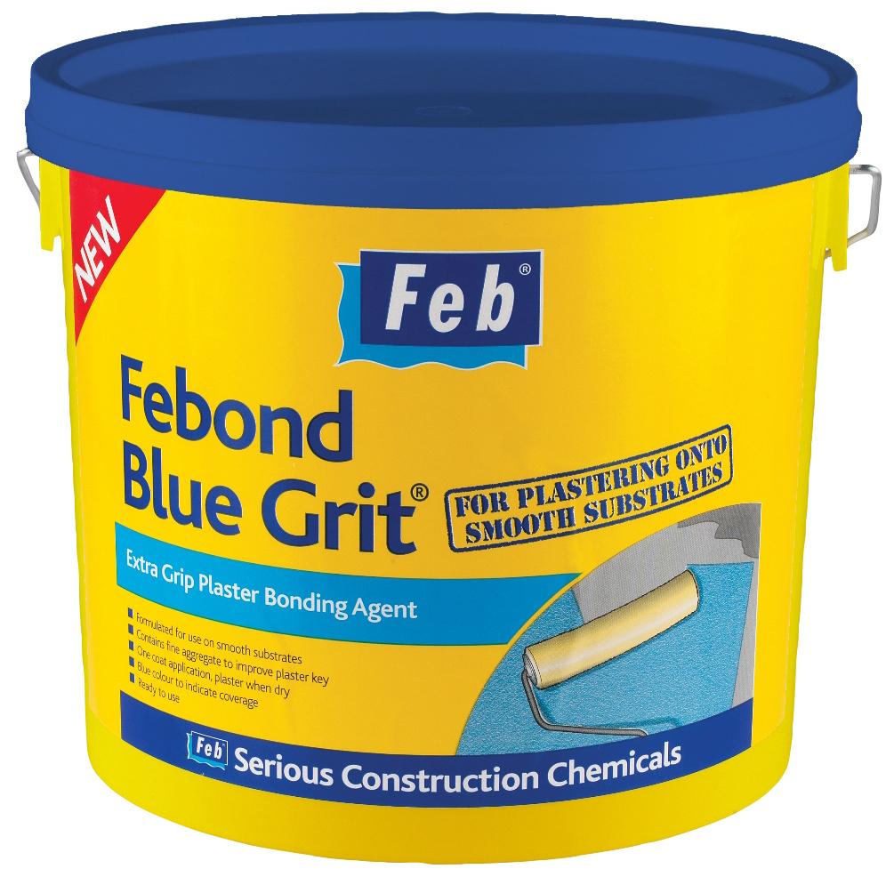 Sika Febond Blue Grit Plaster Bonding Agent 10L
