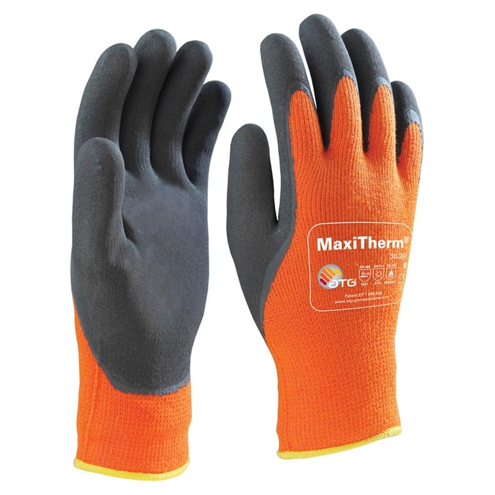 Maxitherm Orange Glove (Size 9)