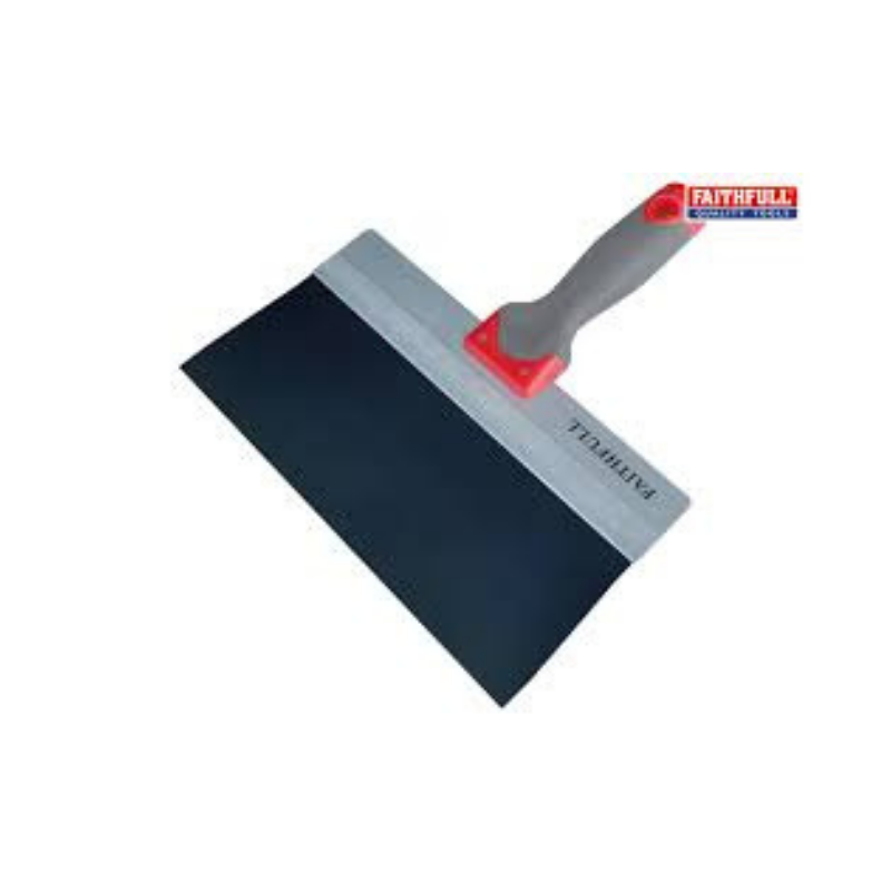 Faithful Drywall Taping Knife Blue Steel 200mm