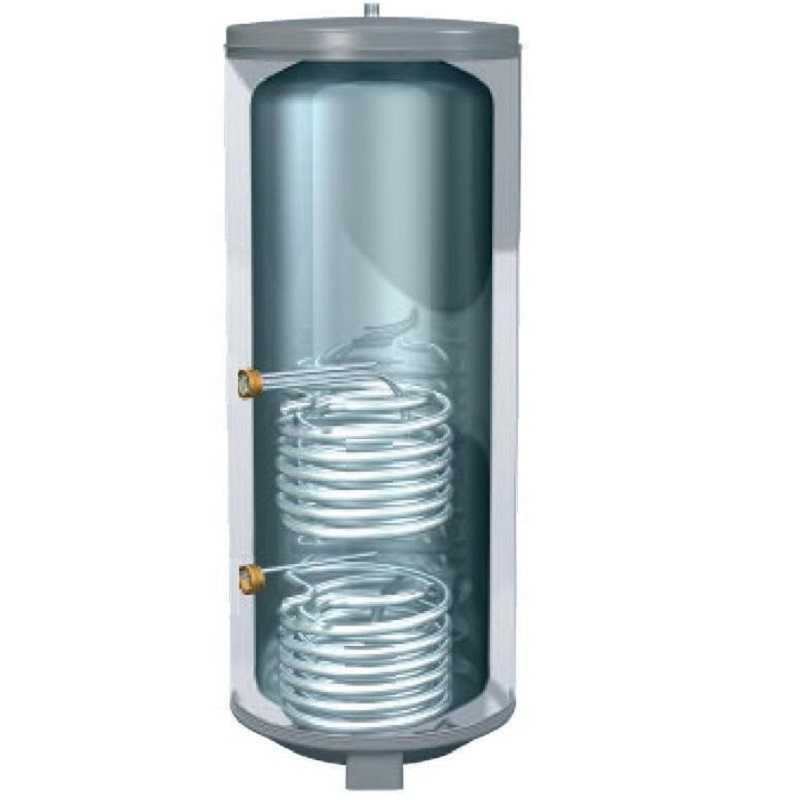 Insulated Dual Coil Copper Cylinder 54 x 18 Grade 3