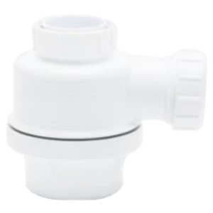 "Fluid master 1 1/2"" Anti-Vac Bottle Trap"