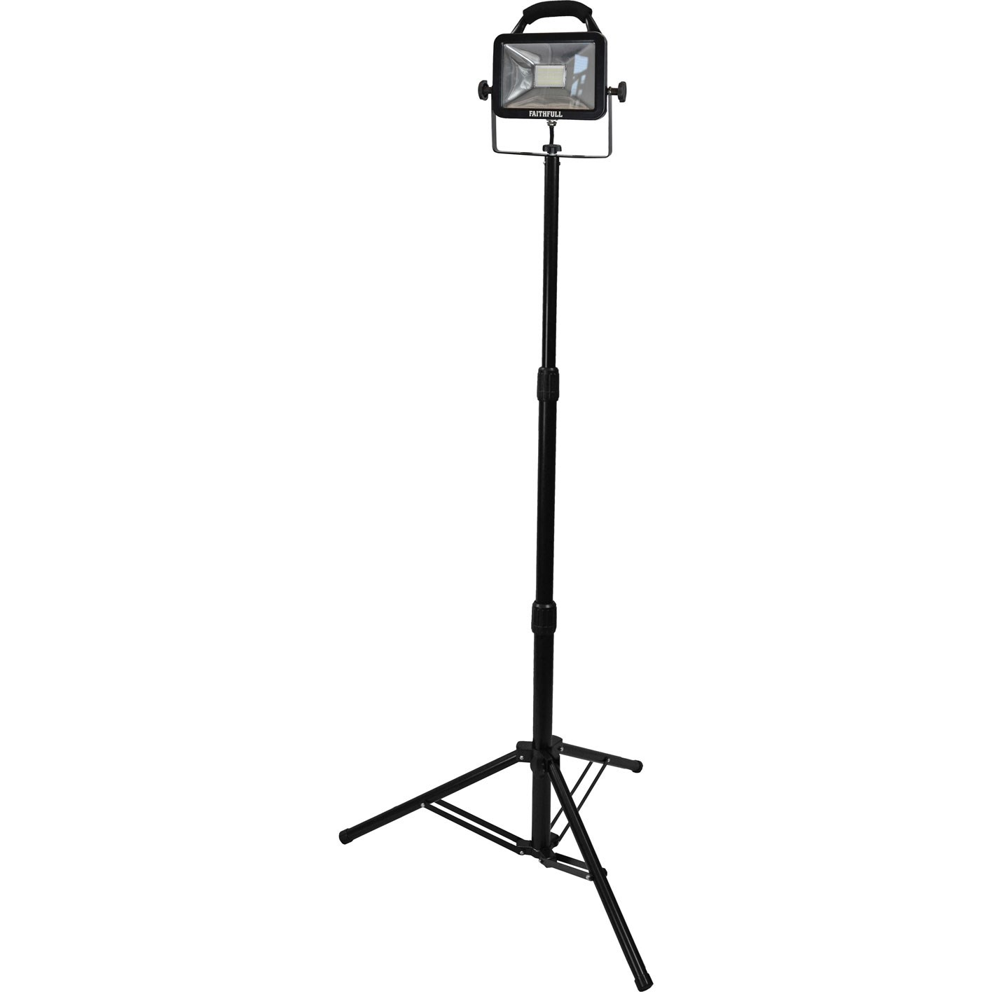 Faithfull 20W 110V Sitelight Single Tripod (Lumens1800))