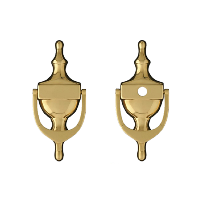 Citysafe Self Adhesive Door Knocker PVD Gold