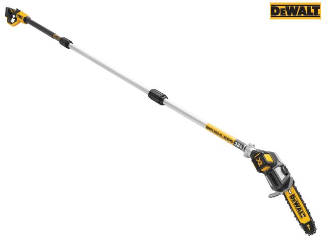 Dewalt 18V XR Cordless - Brushless Pole Saw   c/w 1 x 5.0Ah Battery