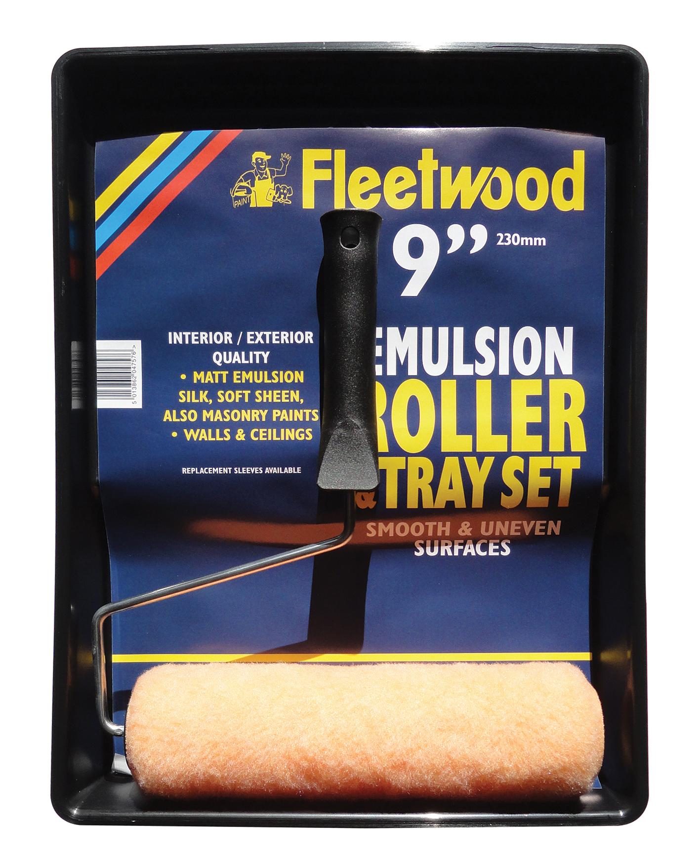 """9"""" Budget Roller Set (F/W Emulsion Roller & Tray Set)"""