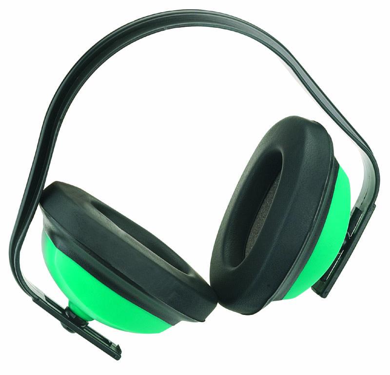 J Muff Ear Defender SNR24 Yellow Bagged