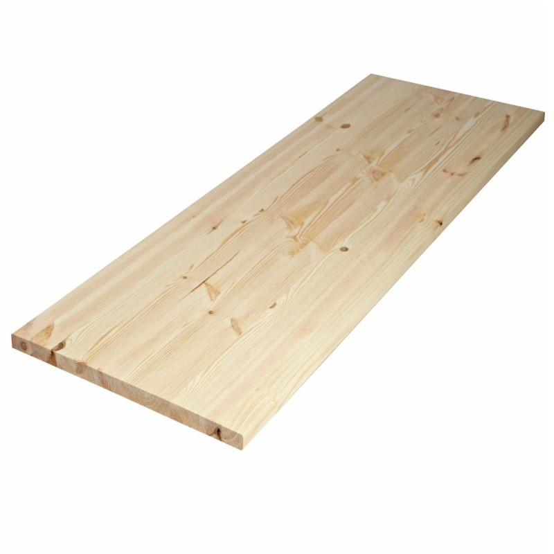 2440x1220x25mm Pine Lamwood Panel (AB Grade)
