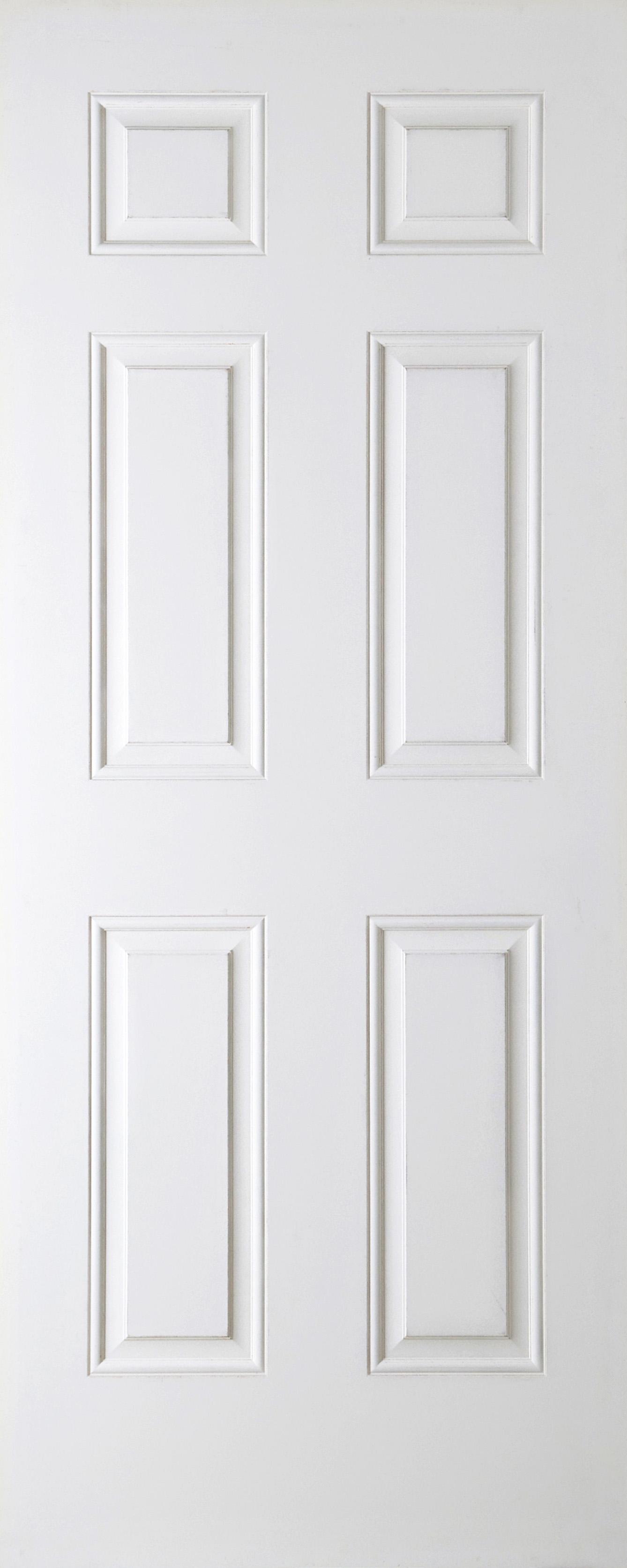 """Regency Door Smooth 1981x762mm 6 Panel (78""""x30"""") 44mm Width"""