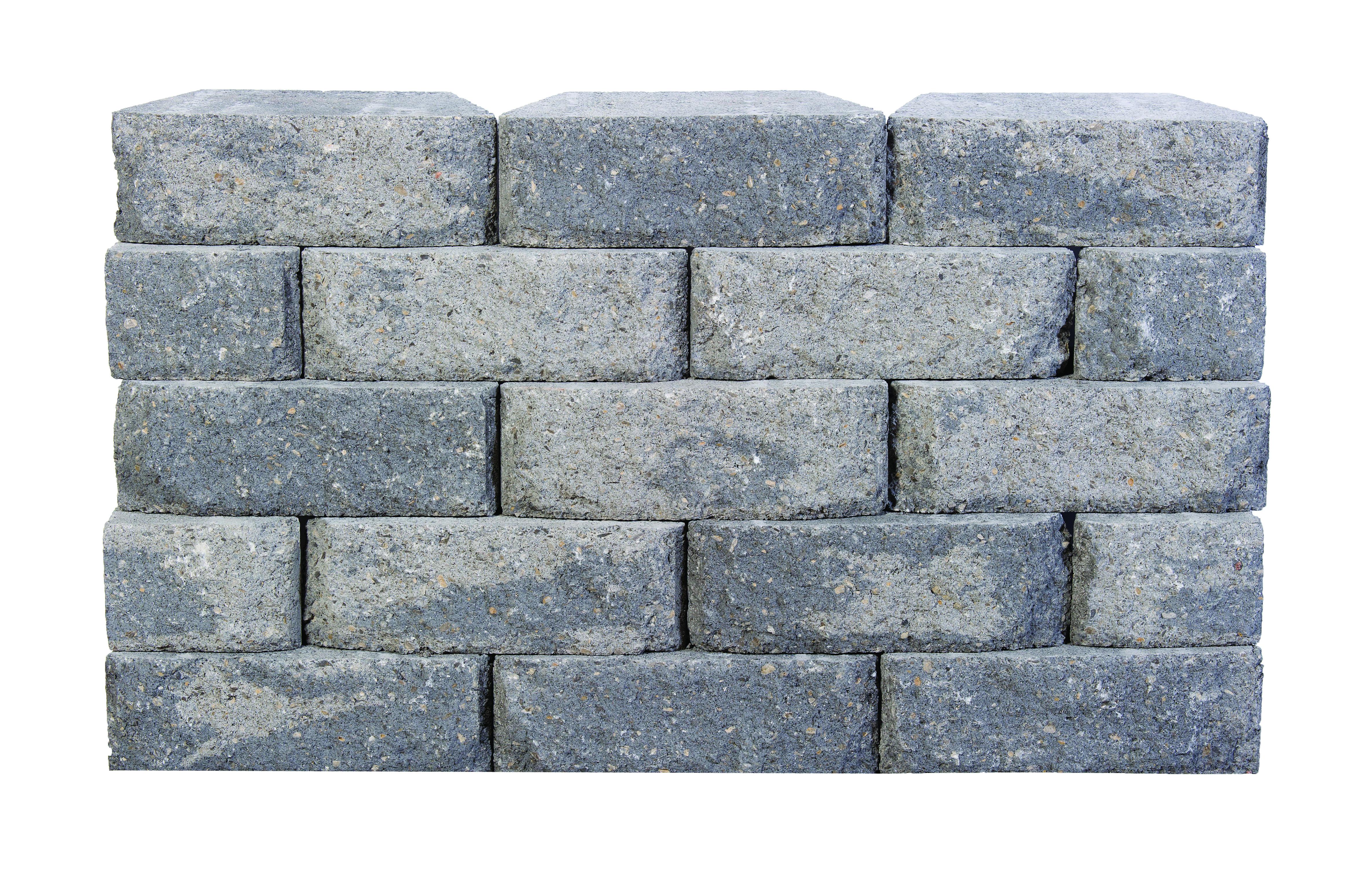 Wall Block Aspen Basalt L295xD180xH100mm (Each)