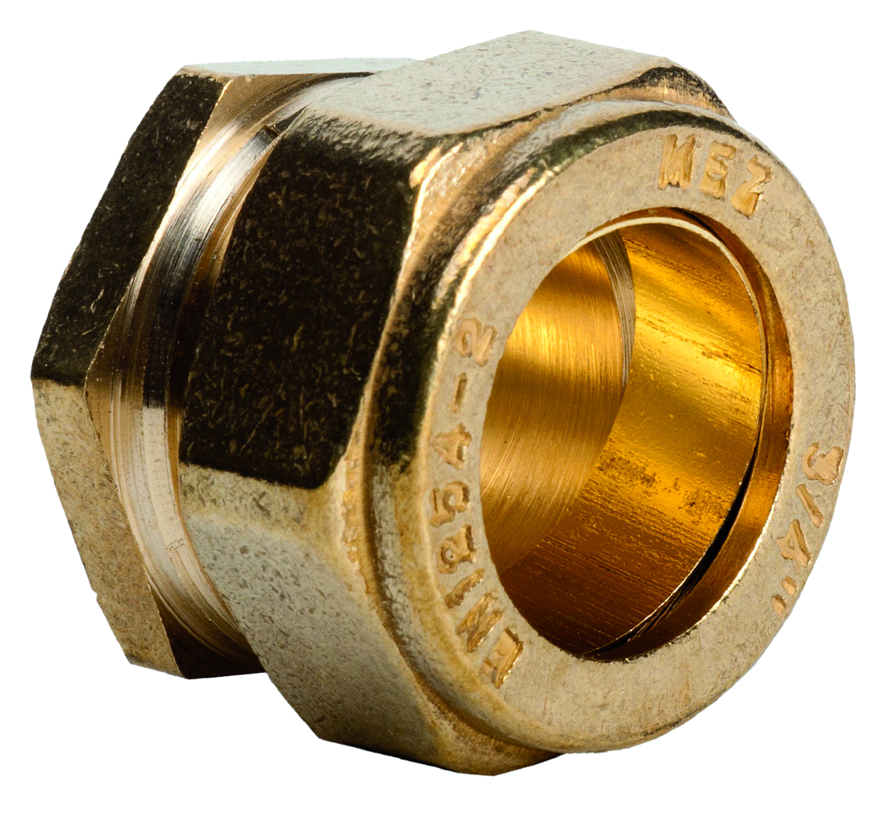 "Compression 351 1/2"" Stop End"