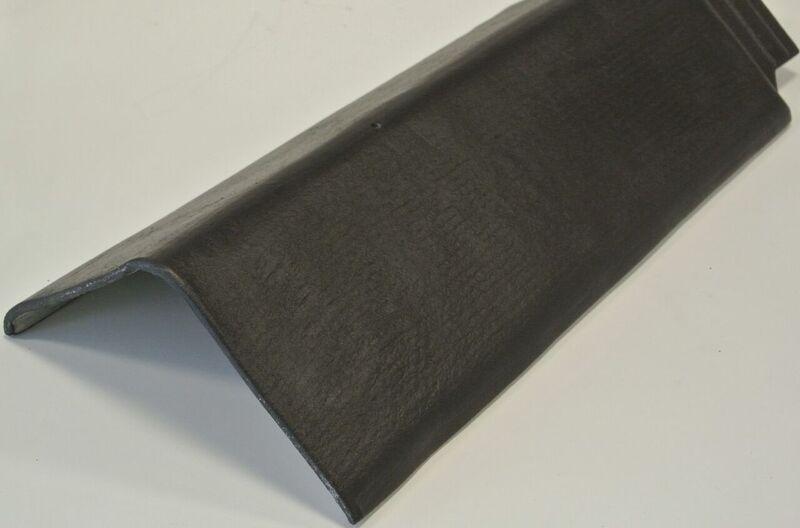 Ridge Tile (F/Cem) 90 Deg 525mm Black