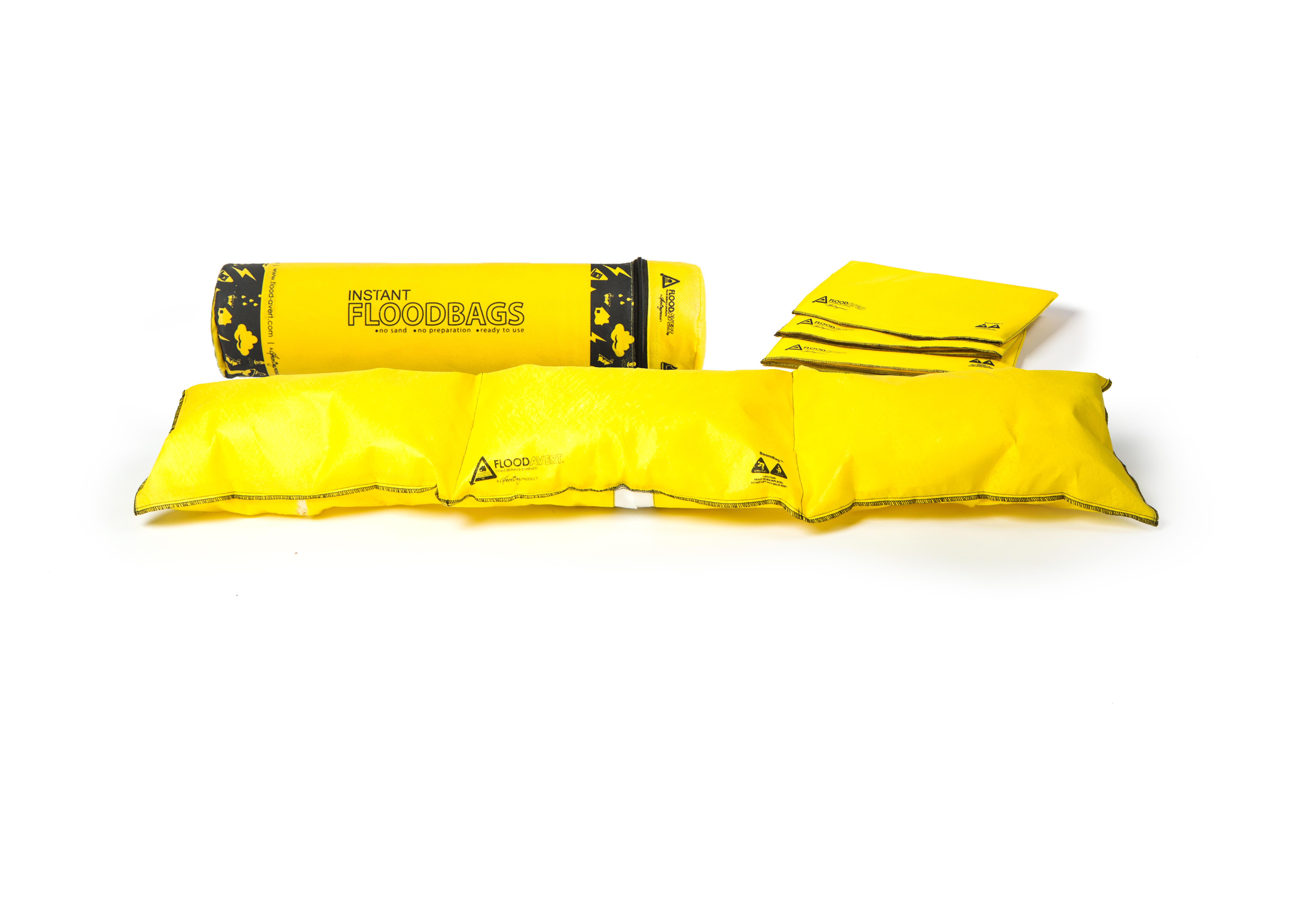 Boom Tube: 3 x Instant Floodbags