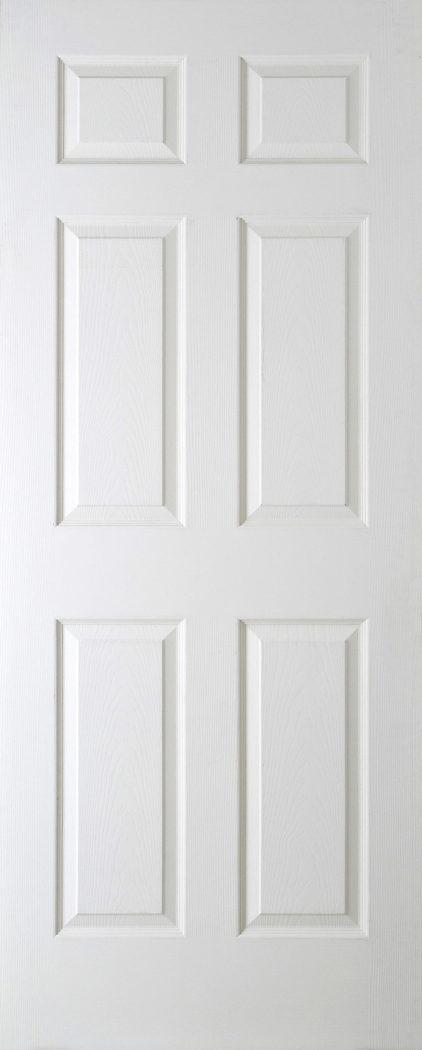 """Regency Woodgrain Door 2032x813mm 6 Panel (80""""x32"""") 44mm Width"""