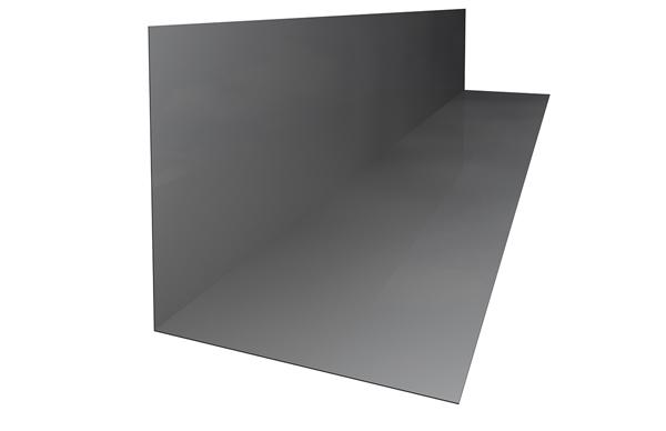 Aluminium Soaker Blue/Black No6 (150x150x330mm)
