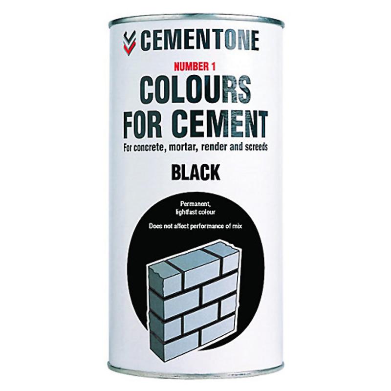 Cement Colour 1Kg Black