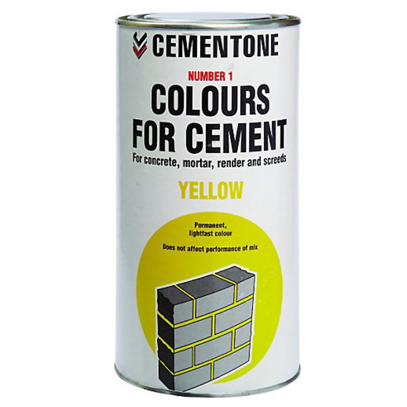 Cement Colour 1kg Yellow
