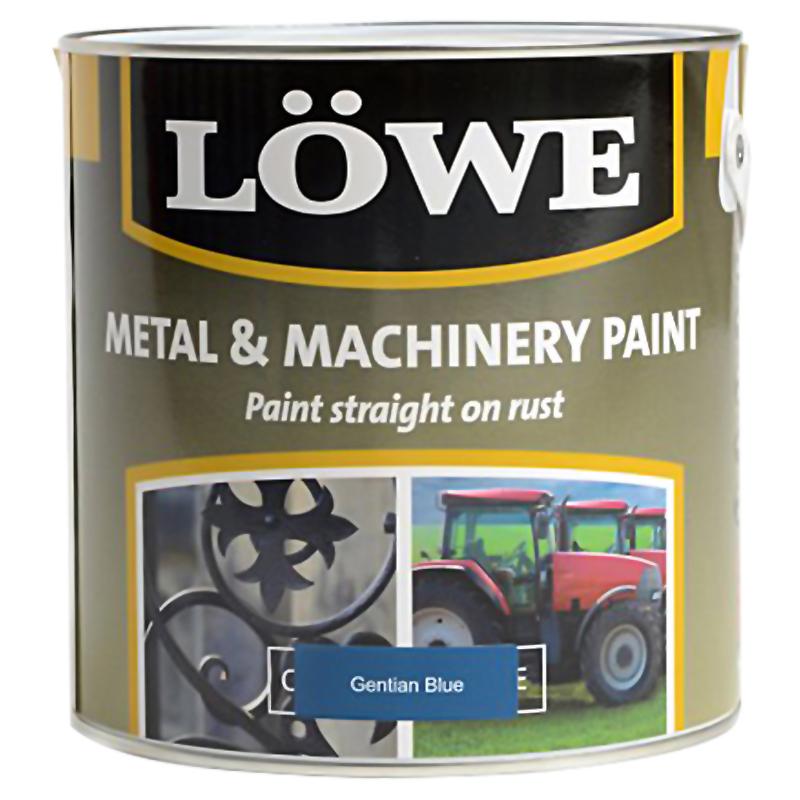 Lowe Metal & Machinery Paint Blue 500ml