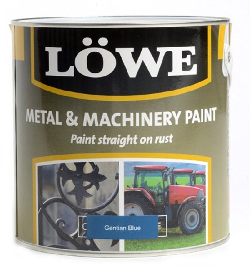 Lowe Metal & Machinery Paint Blue 2.5ltr