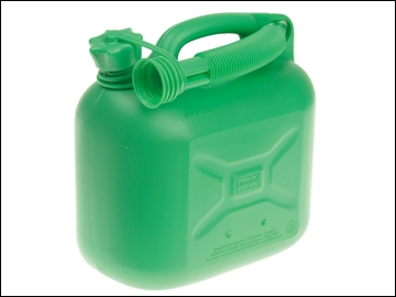 Petrol Can And Spout 5L Unleaded Green