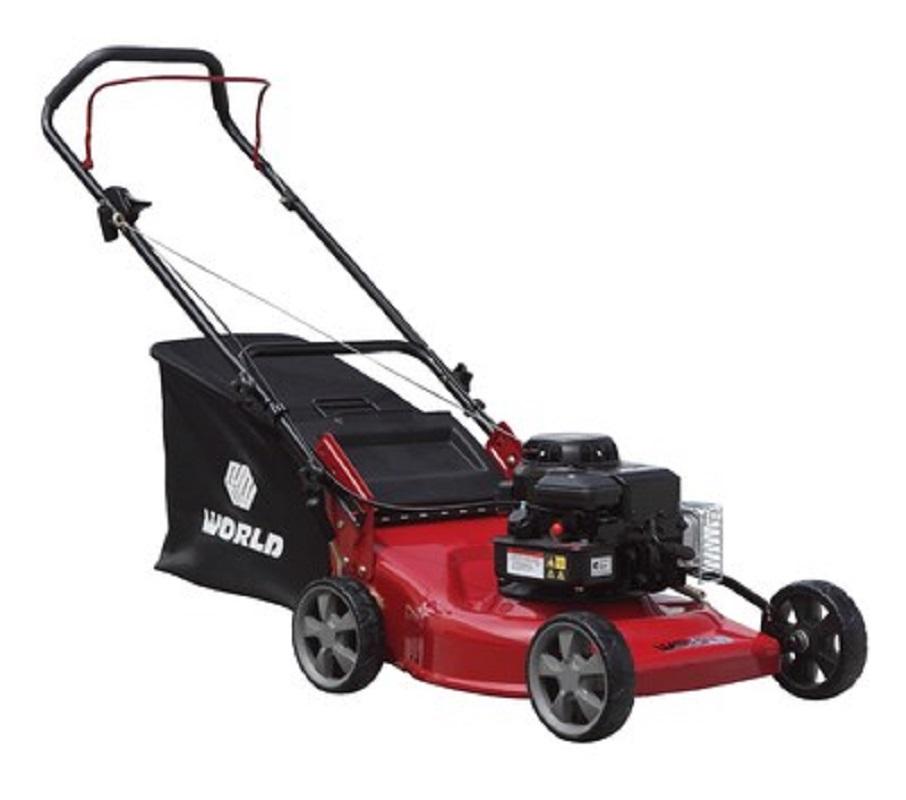"Victor 18"" Steel Deck Push Lawnmower B&S 500 Engine"