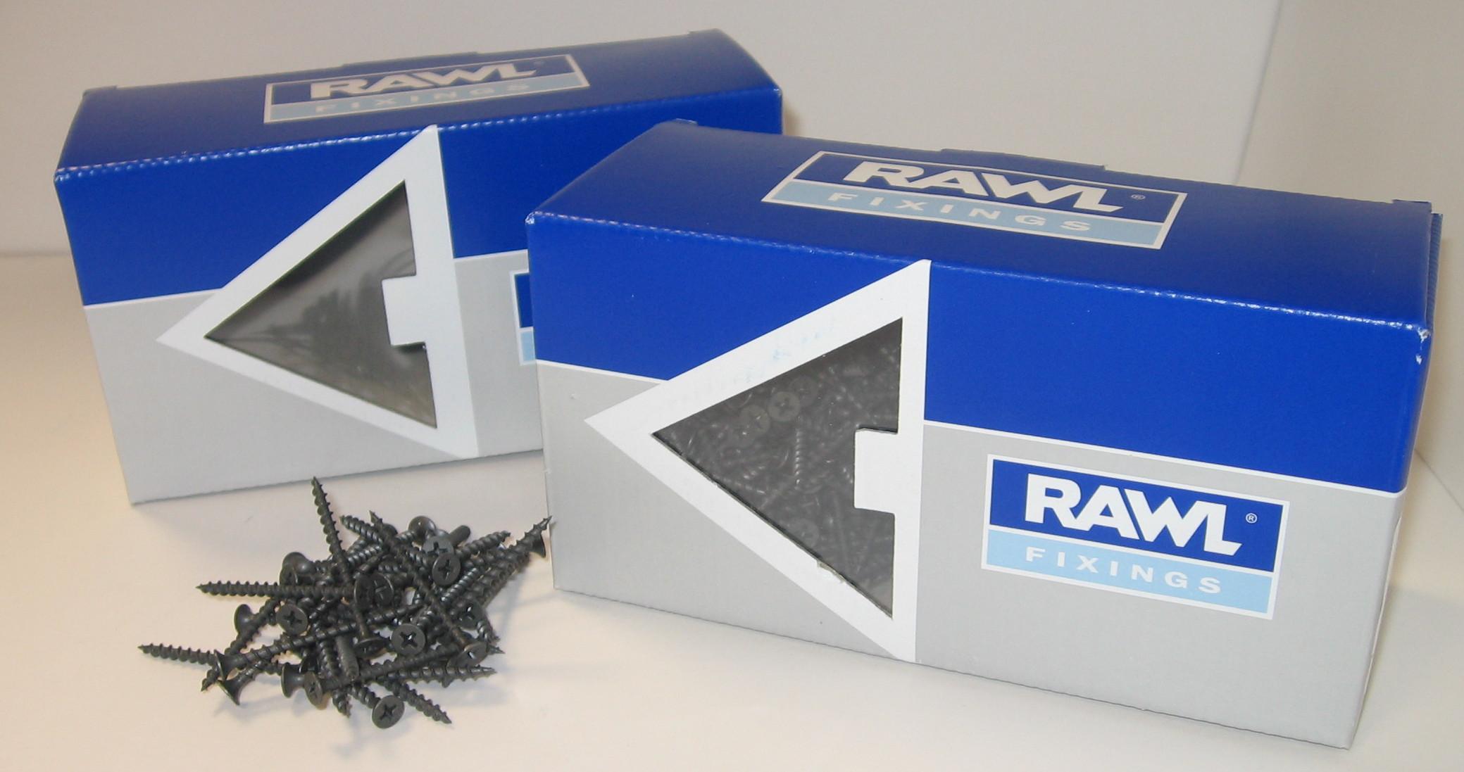Rawlplug Drywall Screw 4.8x150mm Coarse (Box 100)