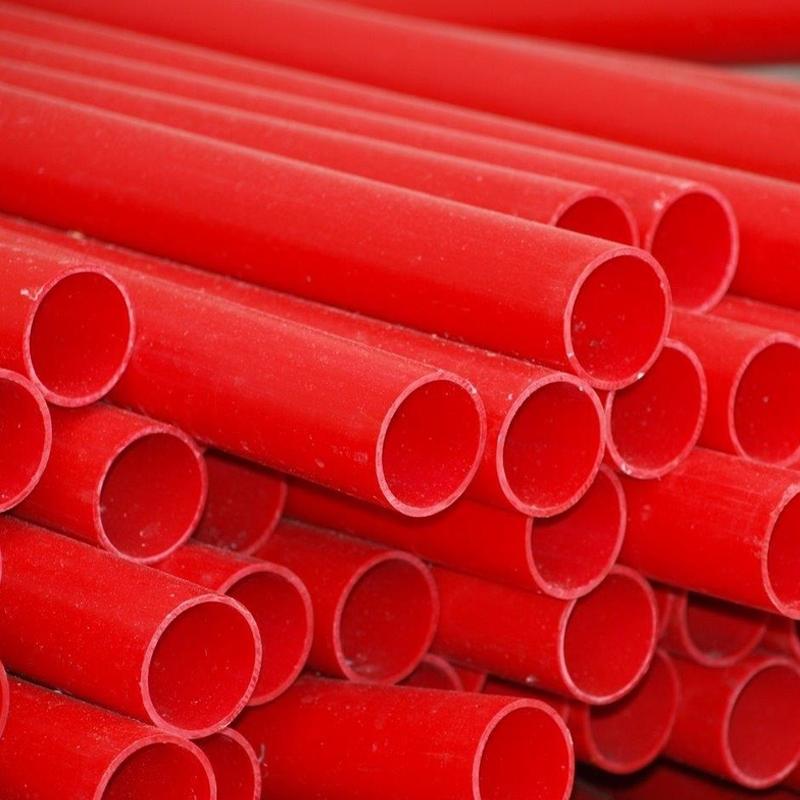 ESB PVC Ducting Pipe Red  125mm x 6M