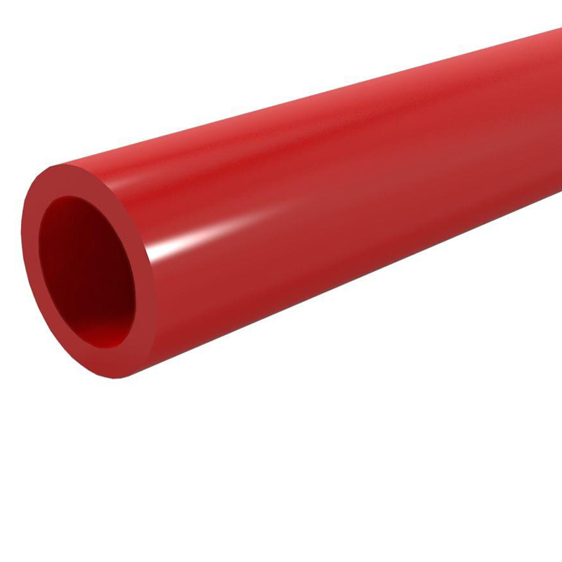 ESB PVC  Ducting Pipe Red  160mm x 6M