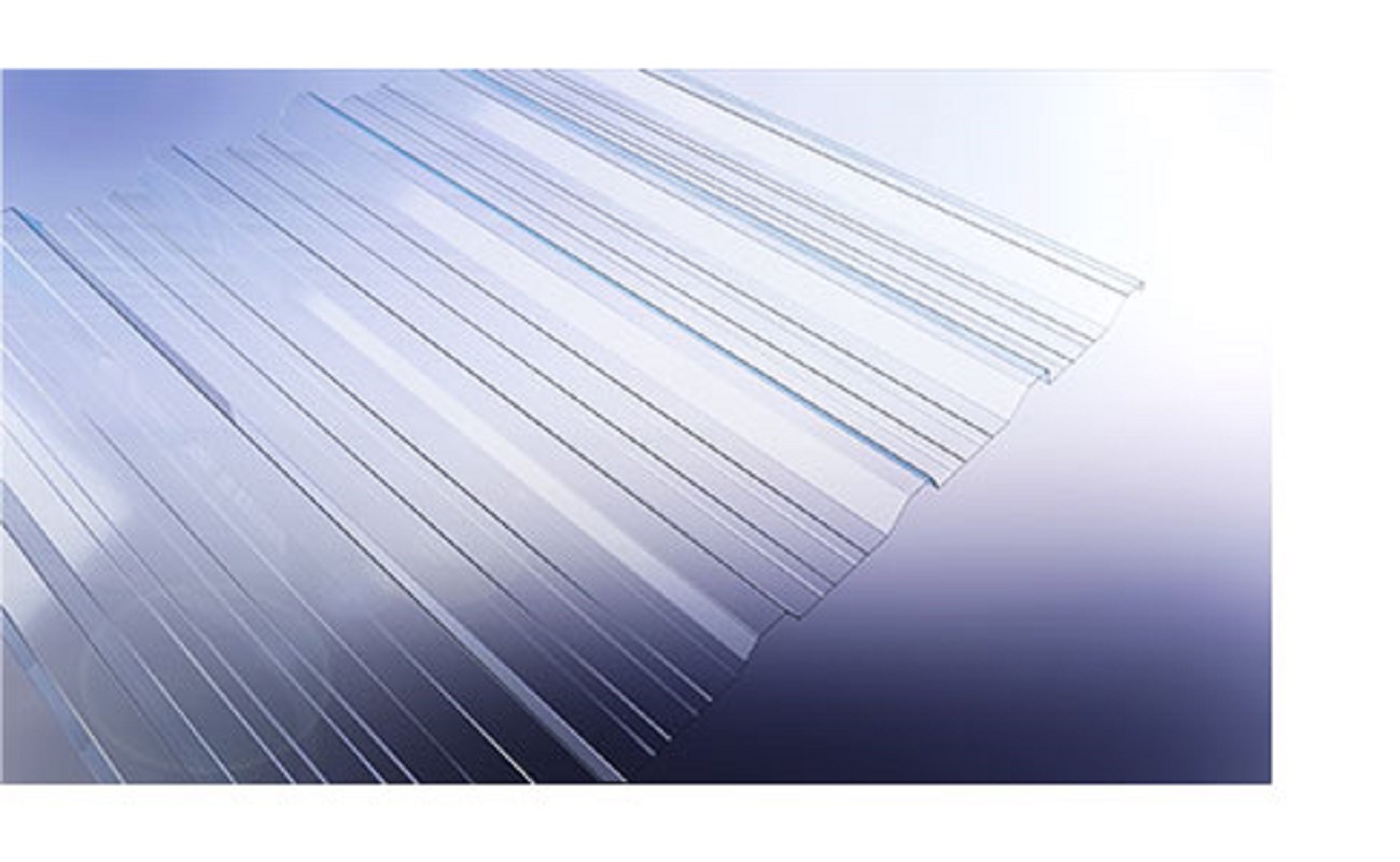 1000/32mmx1.3mm Polycarbonate Clearlite Per 20ft Sheet