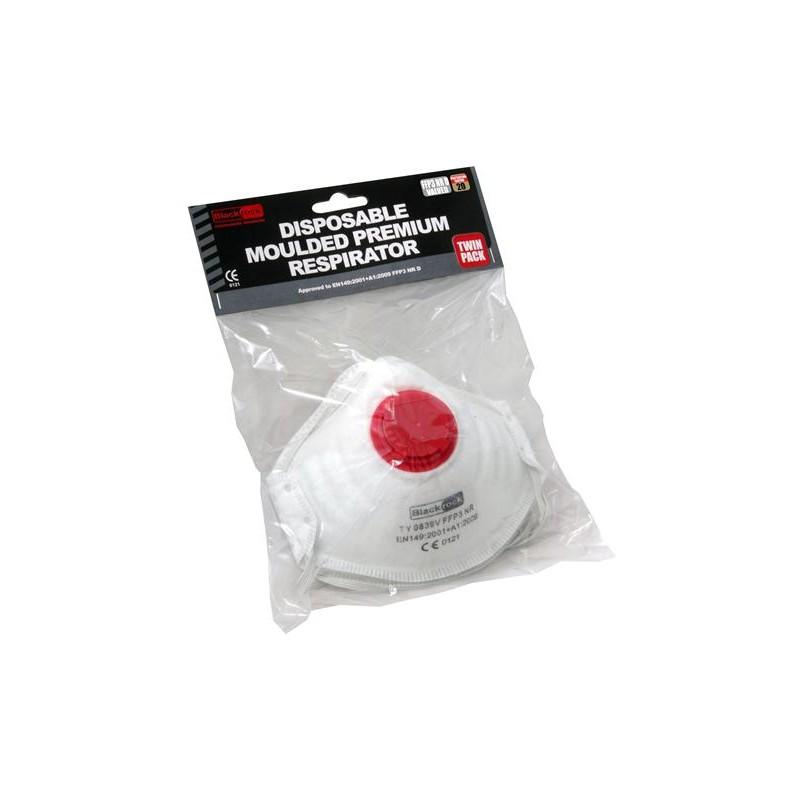 Dust Mask FFP3 Moulded x2 (4300800)