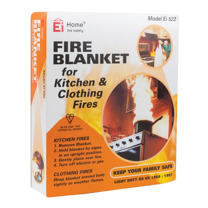 EI Flat Pack Fire Blanket 1.1m x 1.1m