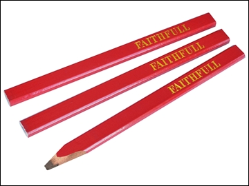 Carpenters Pencil (3 Per Pack)