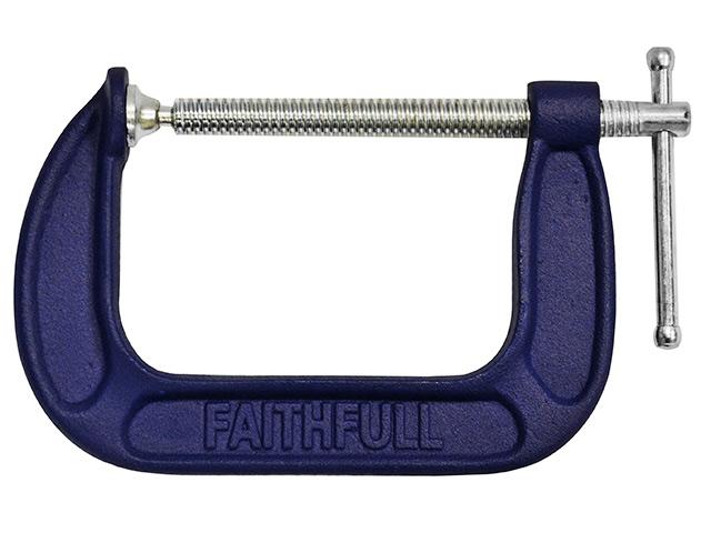 Faithfull/ G Clamp - Medium Duty 4in