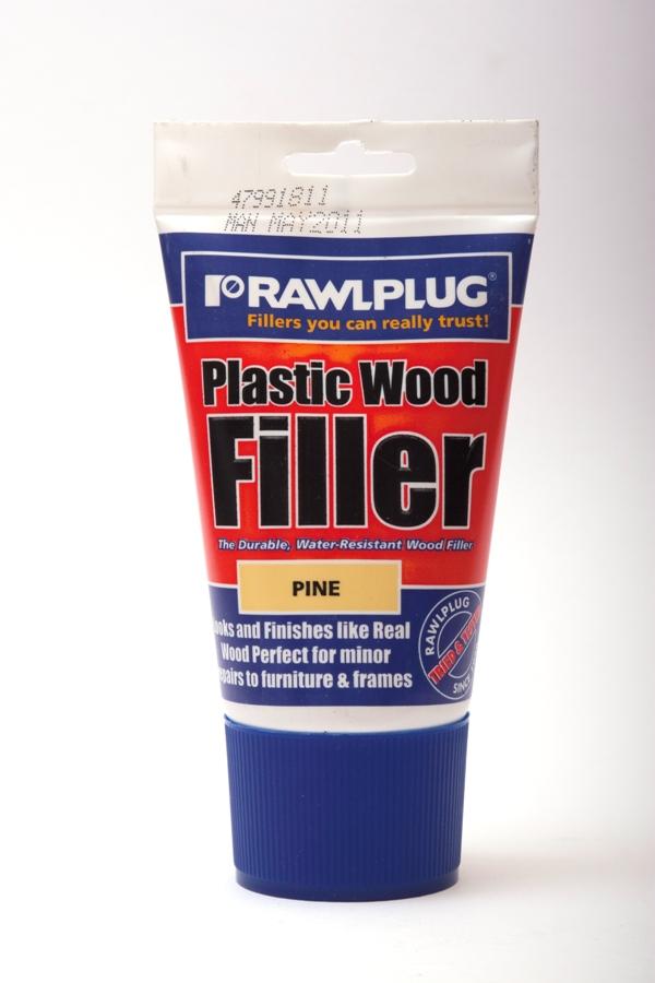 Rawlplug Plastic Wood Filler 100ml Pine