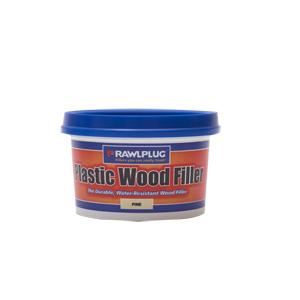 Rawlplug Plastic Wood Filler 250ml Pine
