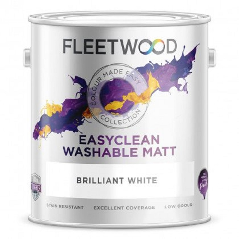 Fleetwood Easyclean Matt Brilliant White 2.5L