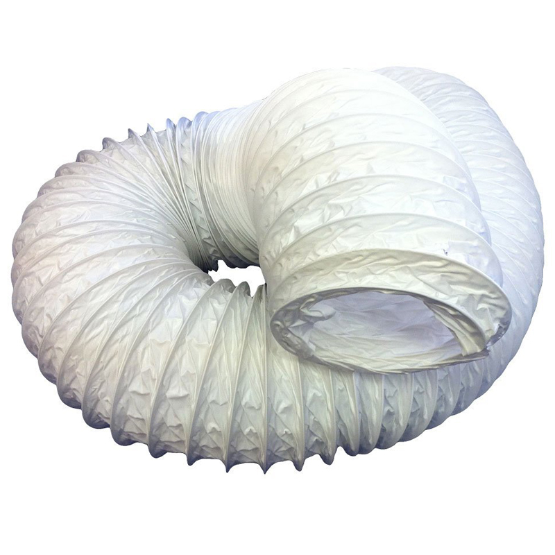 Flexi Vent Hose Net Bag 100mm x 6m PVC White
