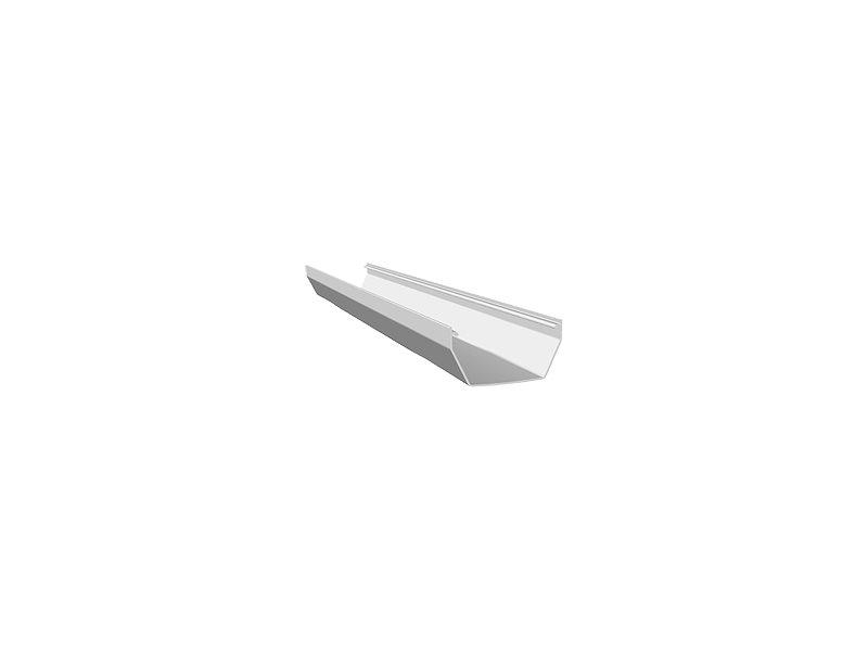 Square Gutter 5m White
