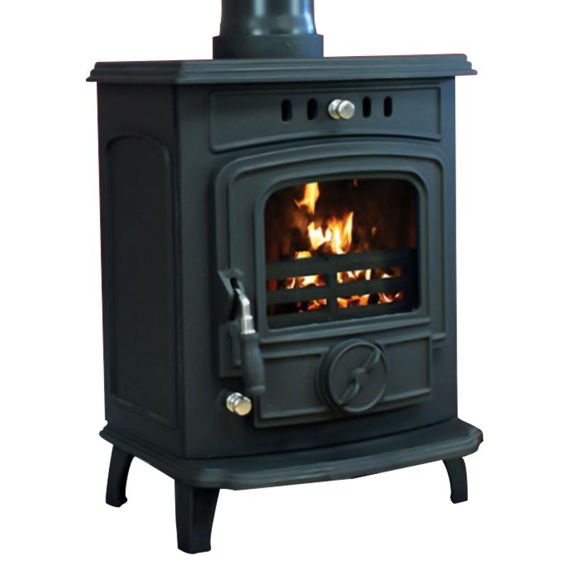 Henley Aran 6kw Non Boiler Matt Black